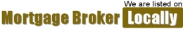 We are listed on Mortgage Broker locally